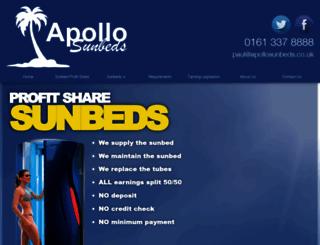 apollosunbeds.co.uk screenshot