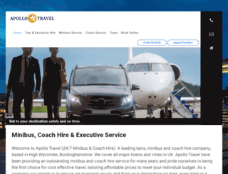 apollotaxisandminibuses.com screenshot