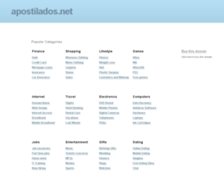 apostilados.net screenshot