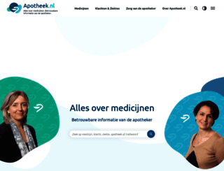 apotheek.nl screenshot