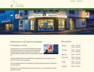 apotheke-hemer.de screenshot