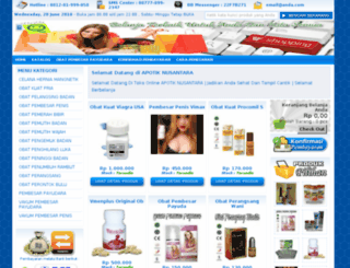 apotiknusantara.com screenshot