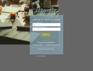 app.attentiv.com screenshot