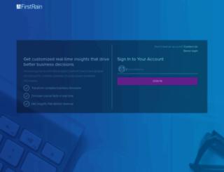 app.firstrain.com screenshot