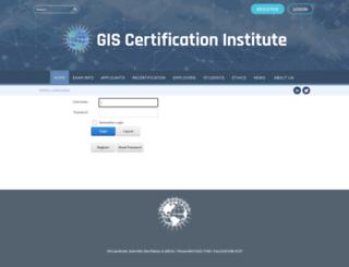 app.gisci.org screenshot