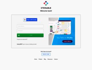 app.iterable.com screenshot
