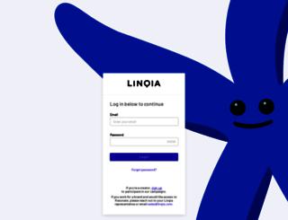 app.linqia.com screenshot