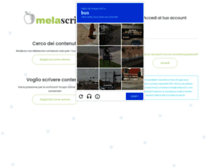 app.melascrivi.com screenshot