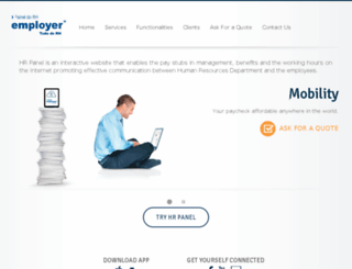 app.meuholerite.com.br screenshot