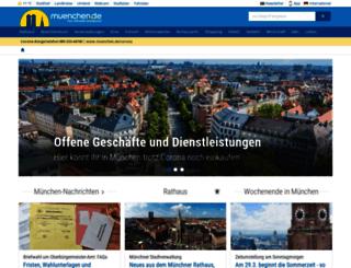 app.muenchen.de screenshot