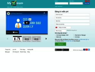 app.myxteam.com screenshot