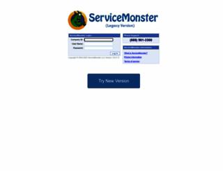 app.servicemonster.net screenshot