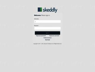 app.skeddly.com screenshot