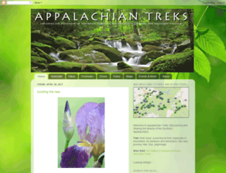 appalachiantreks.blogspot.com screenshot