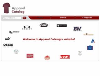 apparelcatalog.net screenshot