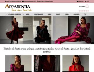 apparentia.com screenshot