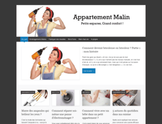 appartementmalin.com screenshot