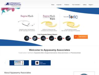 appasamy.com screenshot
