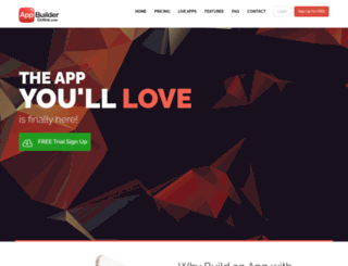 appbuilderonline.com screenshot