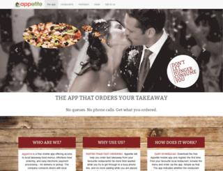 appetite.co.za screenshot