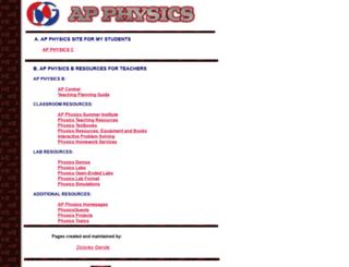 apphysicsb.homestead.com screenshot