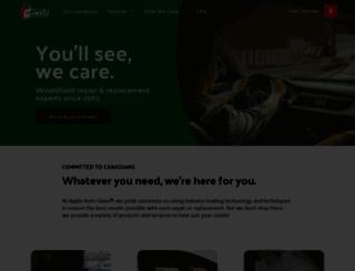 appleautoglass.com screenshot