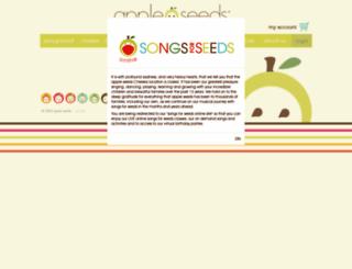 appleseedsplay.com screenshot
