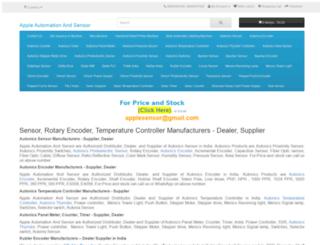 applesensor.com screenshot