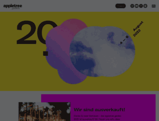appletreegarden.de screenshot