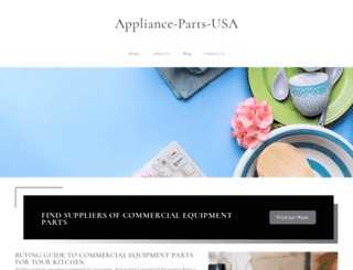 appliance-parts-usa.com screenshot