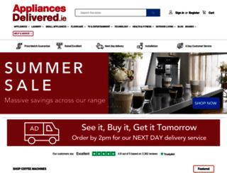 appliancesdelivered.ie screenshot