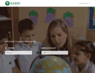 applicants.sabis.net screenshot