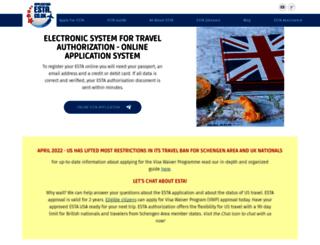 application-esta.co.uk screenshot