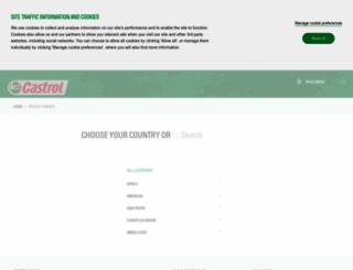 applications.castrol.com screenshot