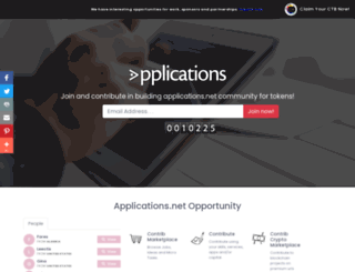 applications.net screenshot