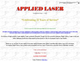 appliedlaser.com screenshot