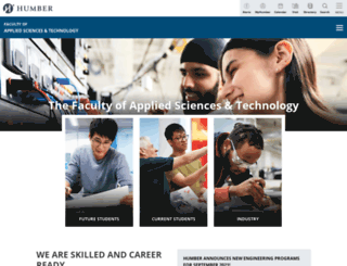 appliedtechnology.humber.ca screenshot