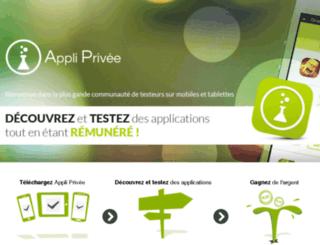 appliprivee.com screenshot