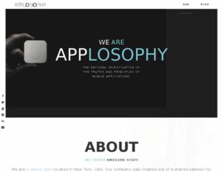applosophy.com screenshot
