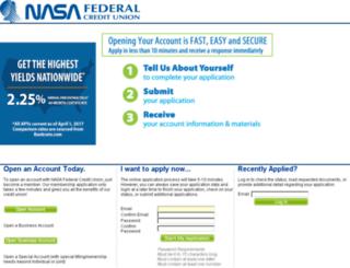 apply.nasafcu.com screenshot