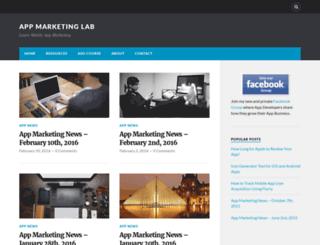 appmarketinglab.com screenshot