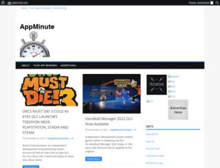 appminute.com screenshot