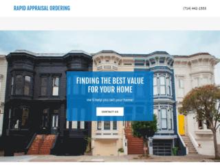 appraisals.raorders.com screenshot