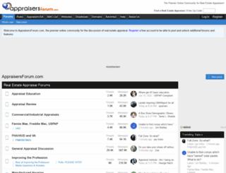 appraisersforum.com screenshot