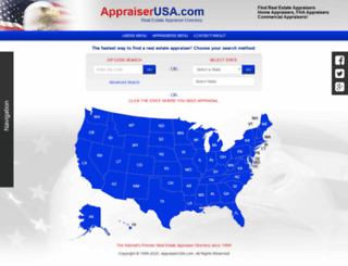 appraiserusa.com screenshot