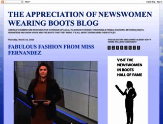 appreciationofbootednewswomen.blogspot.de screenshot