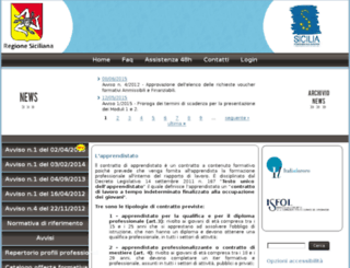 apprendistatoregionesicilia.it screenshot