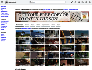 appropedia.org screenshot
