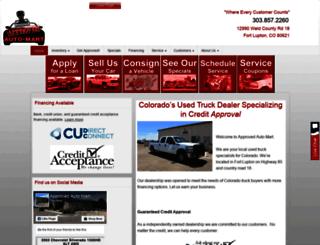 approvedautomart.com screenshot
