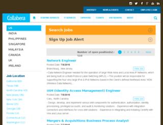 apps.collabera.com screenshot